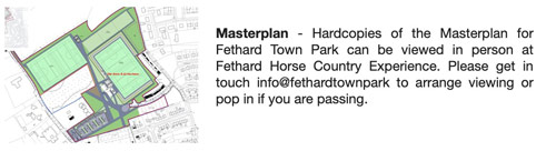 Masterplan - Hardcopies of the Masterplan for Fethard Town Park can be viewed in person at Fethard Horse Country Experience. Please get in touch info@fethardtownpark to arrange viewing or pop in if you are passing.