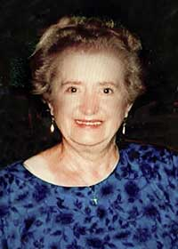 The late Mary Millett, St. Johnstown, who died on March 18, 2021