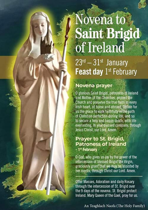 A Novena to Saint Brigid of Ireland